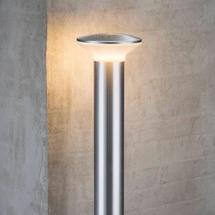 Hunt Pillar Light - Aluminium