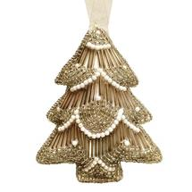 Gold Beaded Hanging Tree