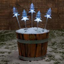 Christmas Tree Stake Lights Set of 5