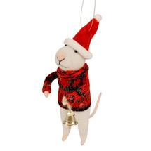 Bell Ringing Mice - Red Jumper