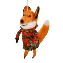 Fairisle Foxes - Red Jumper