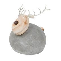 Round Mortar Reindeer - Large