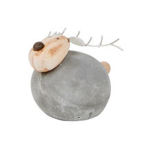 Round Mortar Reindeer - Small