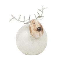 Round Metal Reindeer - Small