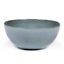 Ceramic Round Bowl - Smokey Blue