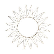 Brass Wire Wreath - Large