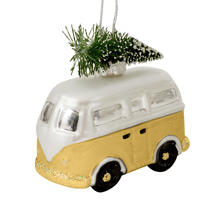Glass Camper Vans - Gold