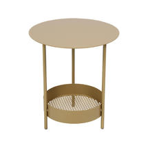 Limited Edition Salsa Pedestal Table - Gold Fever