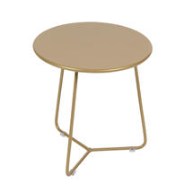Limited Edition Cocotte Low Stool/Side Table - Gold Fever