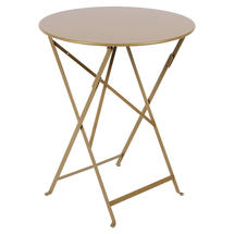 Bistro 60cm Round Table - Gold Limited Edition