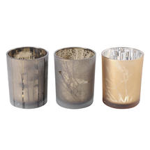 Large Autumn Votives - Set of 3