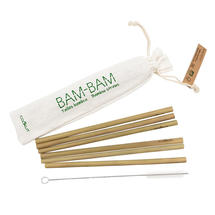 Bam Bam Reusable Bamboo Straws - set of 6