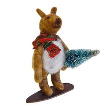 Snowboard Bear with Tree