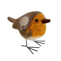 Standing Festive Robin