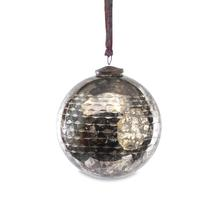 Antiqued Smoked Bauble - Small