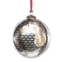 Antiqued Smoked Bauble - Large