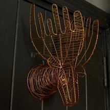 Mini Wire Moose Head