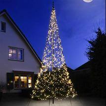 3D 6m Christmas Tree with Warm White Twinkling LED lights