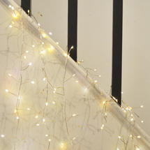 Twinkling Cluster Silver Wire 400 Lights