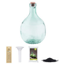 Complete Bottle Terrarium 5L set