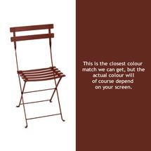Bistro Chair - Red Ochre