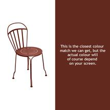 Louvre Stacking Chair - Red Ochre