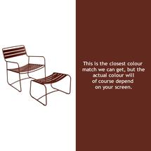 Surprising Lounger - Red Ochre