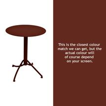 Ariane Round Table - 60cm - Red Ochre