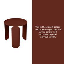 Bebop 45cm Low Table - Red Ochre