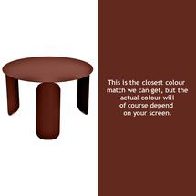 Bebop 60cm Low Table - Red Ochre