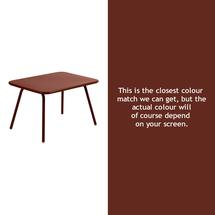 Luxembourg Kid Table - Red Ochre