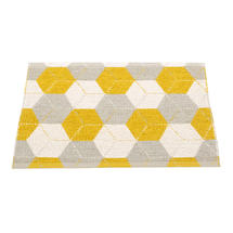 Trip Mustard/Linen/Vanilla70x50cm