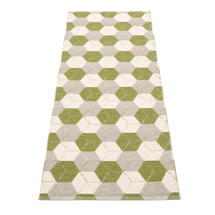 Trip Olive/Linen/Vanilla70x240cm
