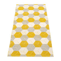 Trip Mustard/Linen/Vanilla70x150cm
