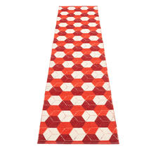 Trip Berry/Coral Red/Vanilla70x300cm