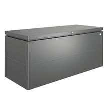 LoungeBox size 200 metallic dark grey
