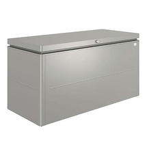 LoungeBox size 160 metallic quartz grey