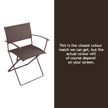 Plein Air Folding Armchair - Russet