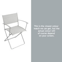 Plein Air Folding Armchair - Steel Grey