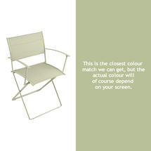 Plein Air Folding Armchair - Willow Green