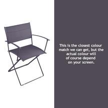 Plein Air Folding Armchair - Plum