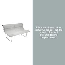 Ellipse Bench Small - Steel Grey