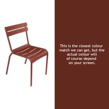 Luxembourg Stacking Chair - Red Ochre
