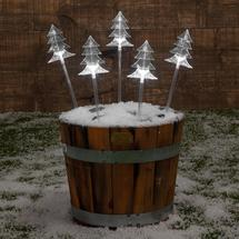 Christmas Tree Stake Lights Set of 5