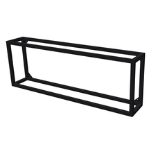Rectangle Steel Log Holder