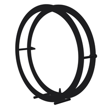 Floor Standing Circular Steel Log Holder