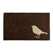 Bird Coir Doormat - Brown