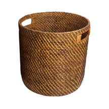 Small Woven Baskets - Brown