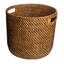 Large Woven Baskets - Brown