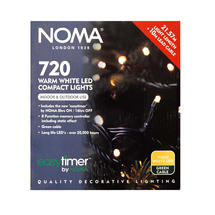 Compact Christmas Tree 720 Warm White String Lights
